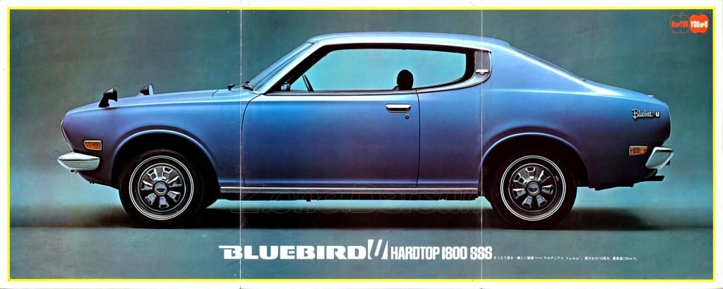 BLUEBIRD U JAPAN 1600GL 1800 SSS (1)