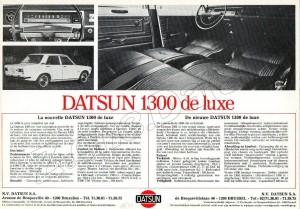 DATSUN 1300 LUXE B527