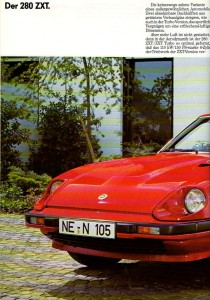 280zxt 1983 allemagne 574