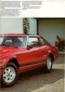 280zxt 1983 allemagne 575