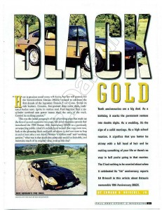 ROAD TEST 280ZX BLACK GOLD