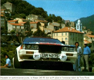 240RS POND-ARTUR 6EME TOUR DE CORSE