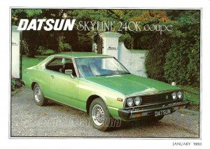 240k datsun uk 1980