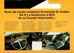 LAUREL 1972 BELGIQUE 816