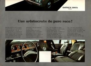 LAUREL 1972 BELGIQUE 821