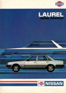 LAUREL 1983 BELGIQUE 129