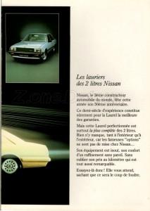 LAUREL 1983 BELGIQUE 131