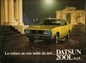 LAUREL 6 1974 BELGIQUE 805