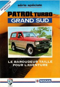 PATROL TURBO GRAND SUD 965