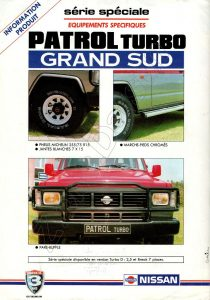 PATROL TURBO GRAND SUD 966