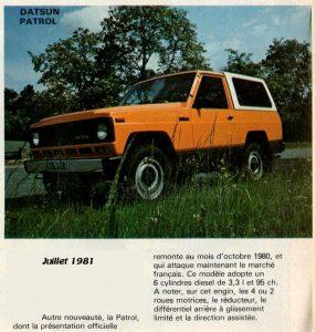 patrol 1981