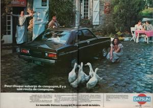 pub datsun 1978 france1