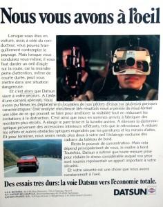 pub datsun france 1979.1