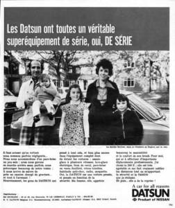 pub france 1973 .0