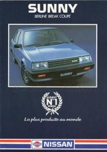 SUNNY 1983 FR840