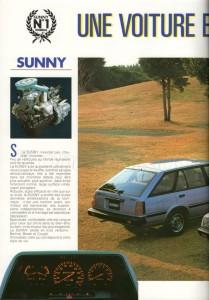 SUNNY 1983 FR841