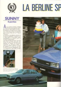 SUNNY 1983 FR843
