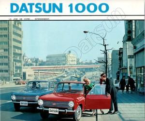 F DATSUN 1000 520