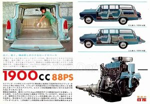 CADRIC VAN 88 PS JAPON