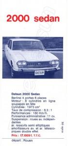 datsun FAIRLADY 2000138