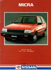 NISSAN MICRA 1986979