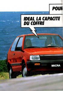 NISSAN MICRA 1986990