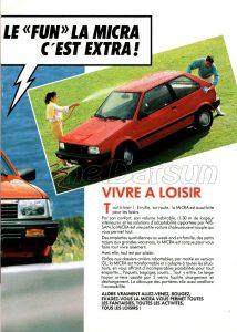 NISSAN MICRA 1986991