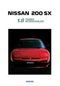 nissan 200sx 1989775