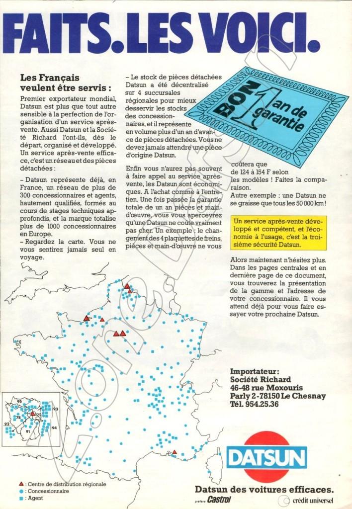 DATSUN FRANCE265