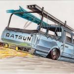 DESSINS DATSUN (3)