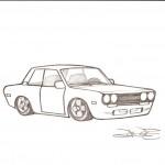 Datsun_510_by_DeWestonBrownstone