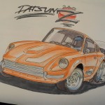 datsun_240z_drawing_by_prestonthecarartist-d5k9e7n