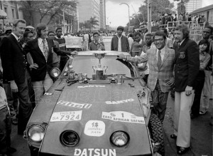 240z rally 1973