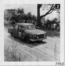 cedric rally 1964