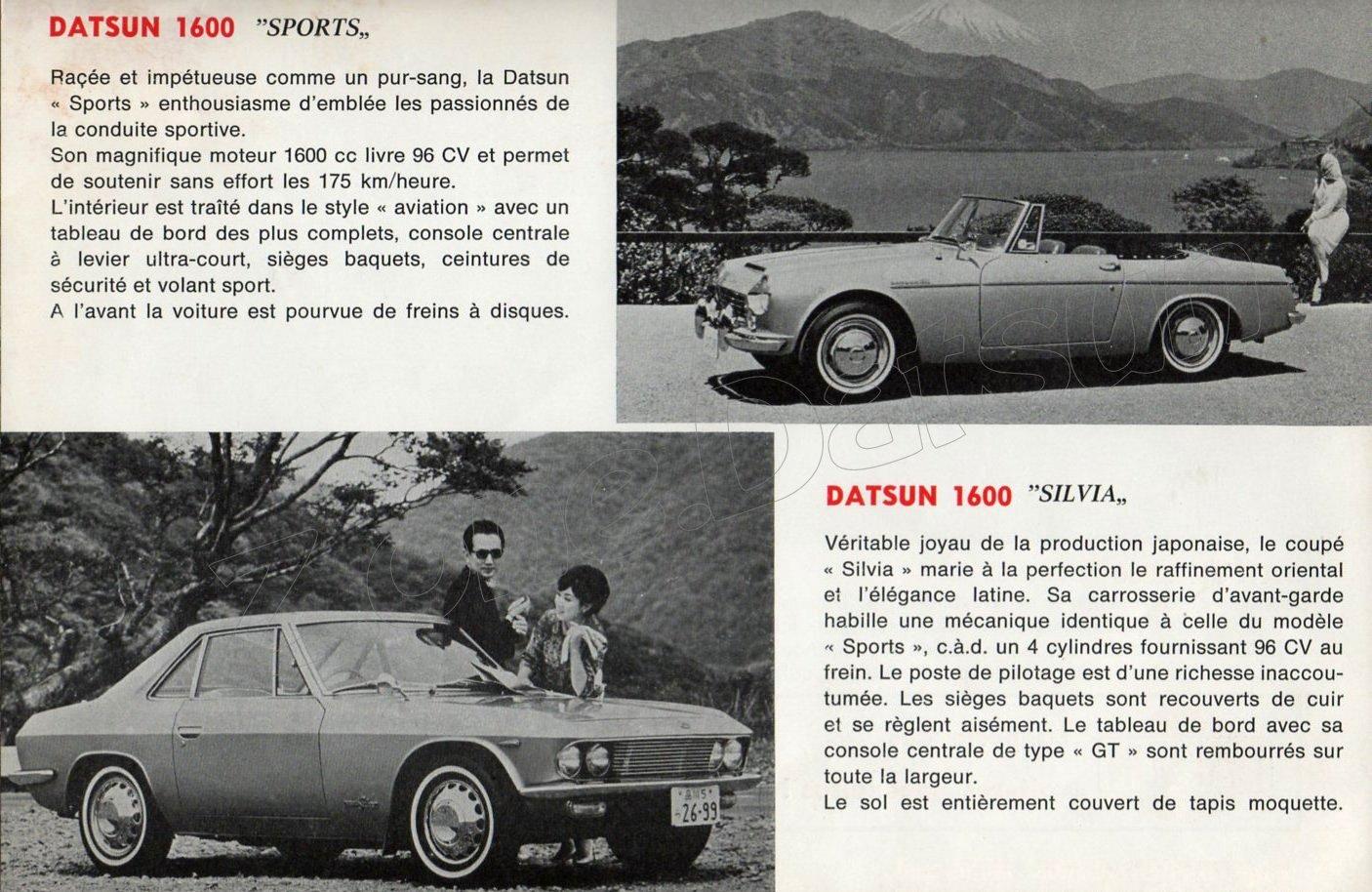cat datsun 1967 belgique 936