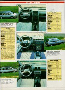 PRAIRIE 1982 COMPARATIFS (3)