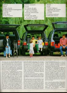 PRAIRIE 1982 COMPARATIFS (4)