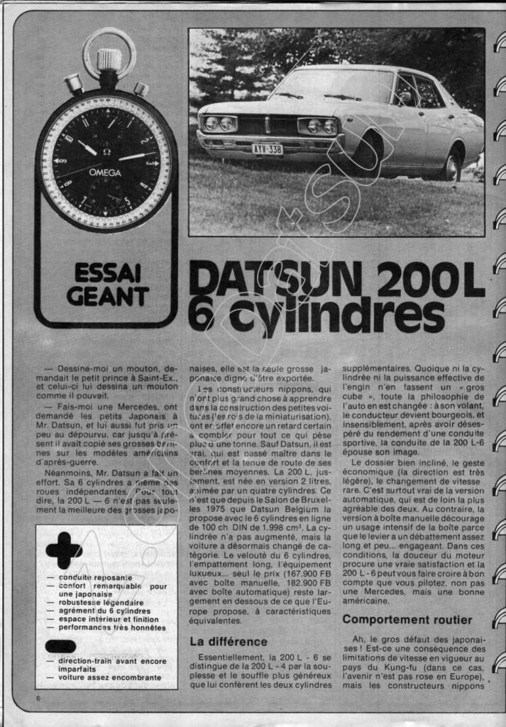 datsun laurel 1982 380