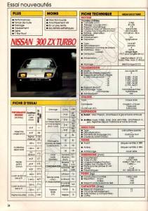 essai 300zx turbo 395