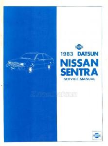 Nissan Sentra 1983 Service Manual
