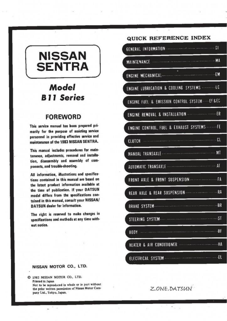 sentra 1983.1