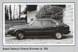 ESSAI CHERRY N10626