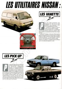 GAMME utilitaires NISSAN FRANCE 1987910