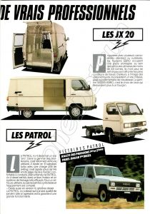 GAMME utilitaires NISSAN FRANCE 1987911