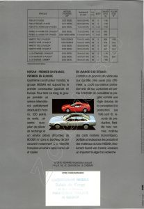 GAMME utilitaires NISSAN FRANCE 1987912