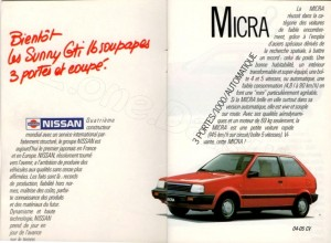 catalogue Nissan france 1987824