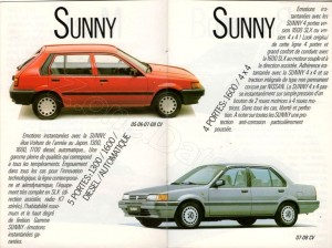 catalogue Nissan france 1987825