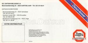 catalogue 1981 belgique 889