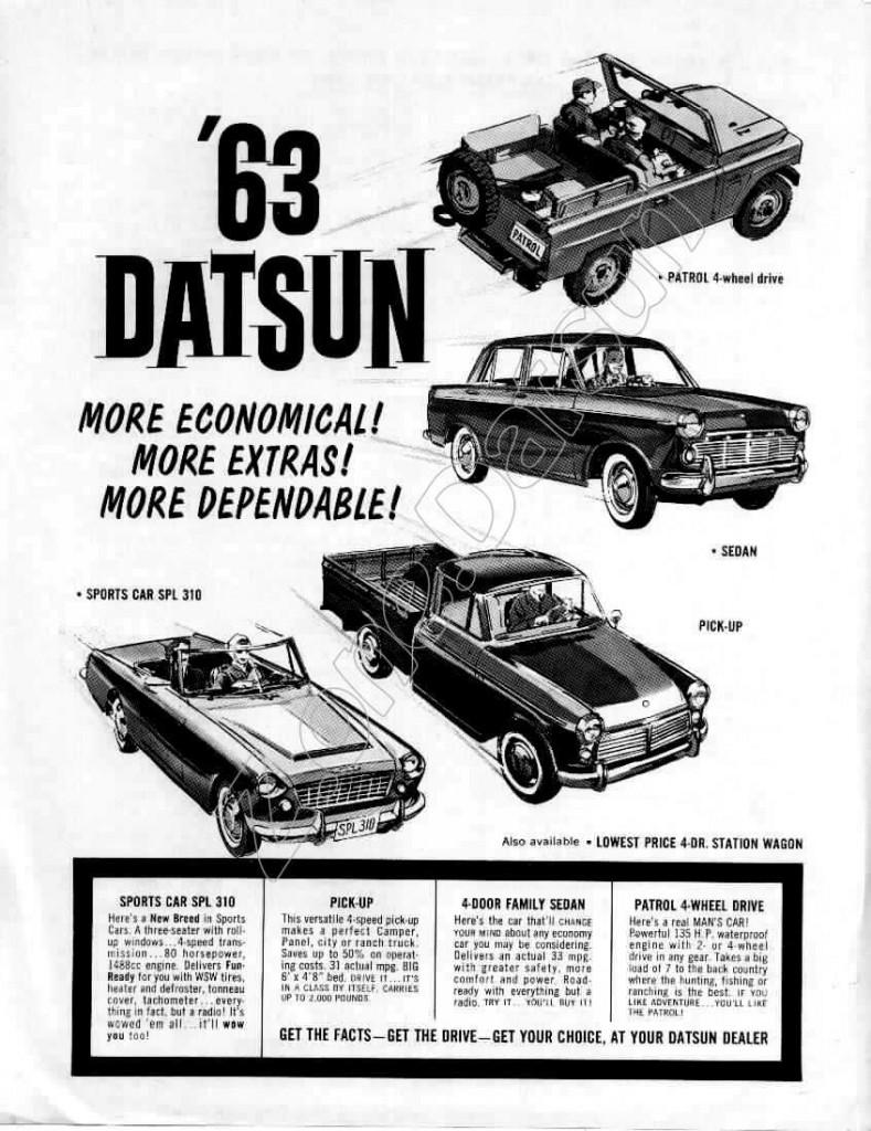 1963 full line USA
