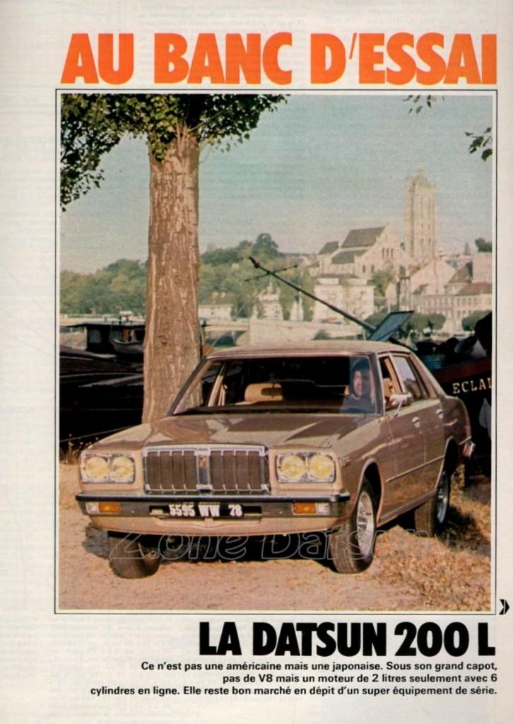 essai datsun 200l 1977 347